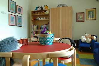 Photo: Keiki (Children's) Room. A place for visiting children to play and relax. Also utilized for Hospice of Hilo's Children's Bereavement Program.