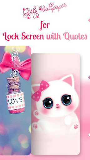 Girly Wallpapers For Lock Screen With Quotes Download Apk Free For Android Apktume Com Great design for your devices ✓ butterfly loves floral girly pink aesthetics wallpaper, vintage print, moody design. girly wallpapers for lock screen with