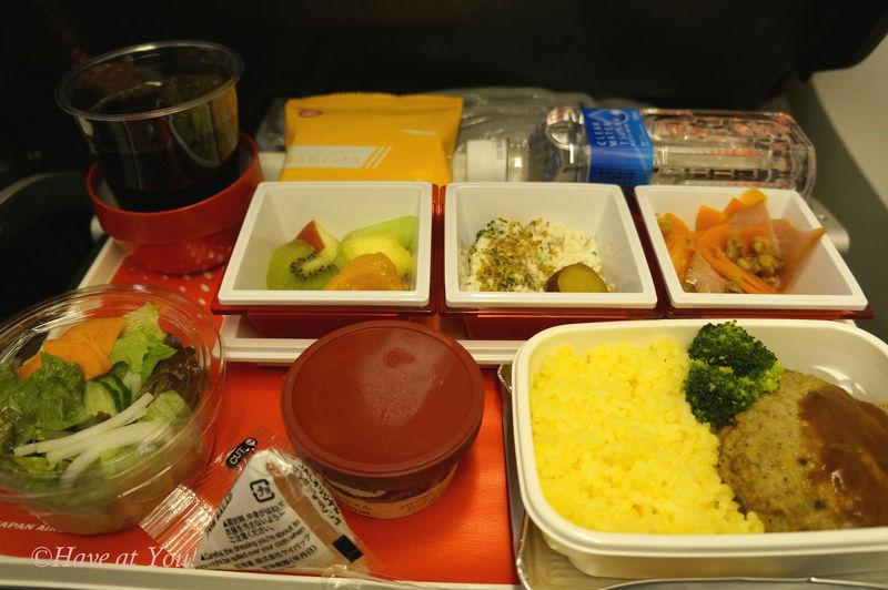 JAL in-flight meals
