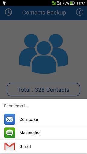 Smart Contacts Backup - (My Contacts Backup) 2.5 screenshots 5