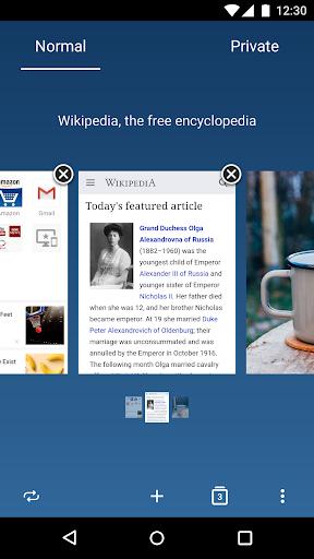 Opera browser - news & search Screenshot