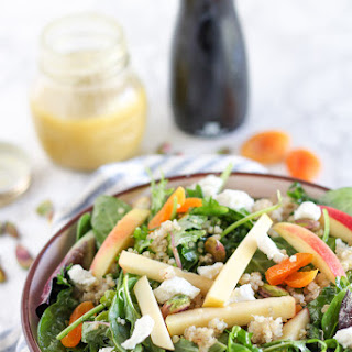Apple, Apricot and Quinoa Salad