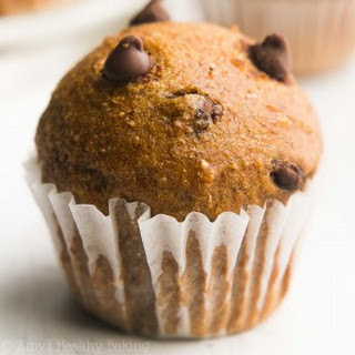 Chocolate Chip Gingerbread Mini Muffins