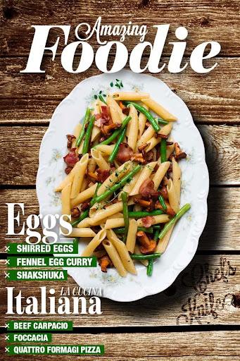 Italian Recipes App - Foodie