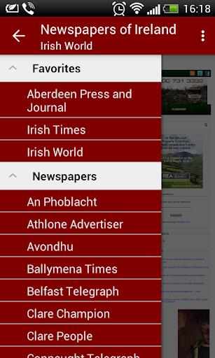 Ireland Newspapers 1.7.1 screenshots 1