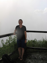 Photo: At the end of the trail and a major viewpoint... only mist...