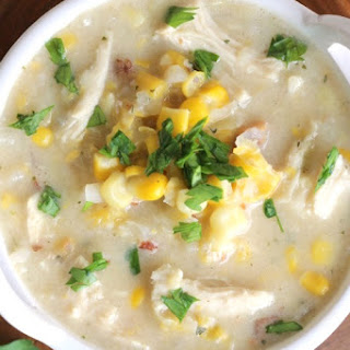 Chicken Corn Chowder Soup Crock Pot Recipes