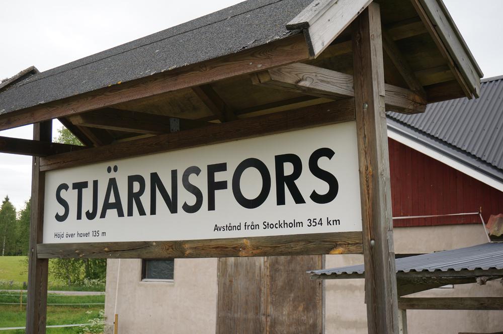 Photo: Stjärnsfors, Norra Råda socken, Hagfors kommun, Värmland. 20160618. Järnvägsstationen med dressintrafik © Sven Olsson (e-post: kosmografiska@gmail.com)