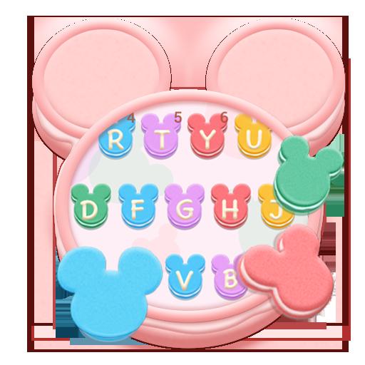 Mickey Macaroon Keyboard Theme icon
