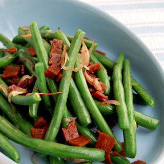 Vegan Green Beans and Bacon