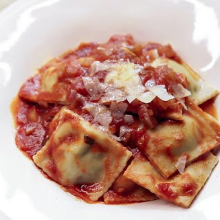 Pork And Parmesan Ravioli.