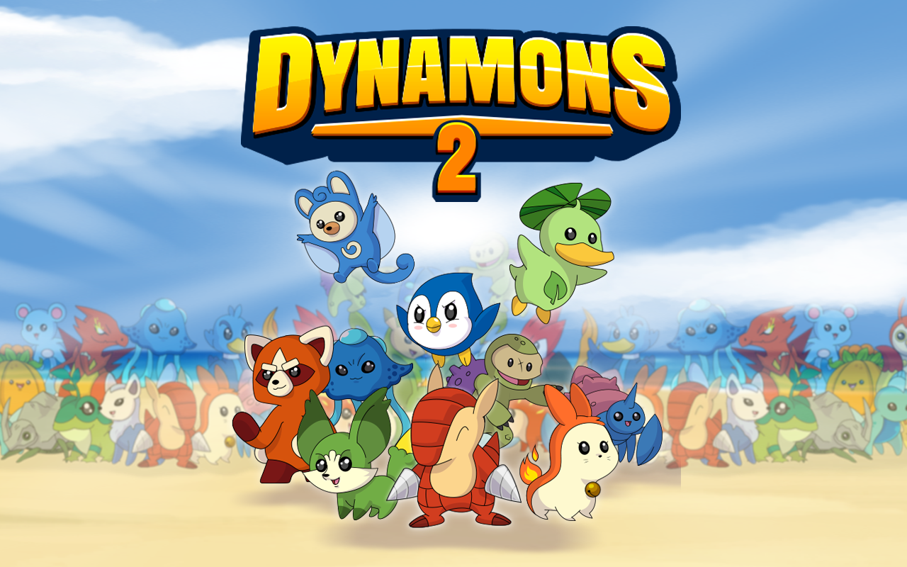 Dynamons 2 by Kizi- screenshot