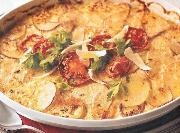 Parmesan Potatoes Au Gratin