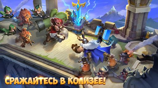 Castle Clash: Путь Храбрых screenshot 9