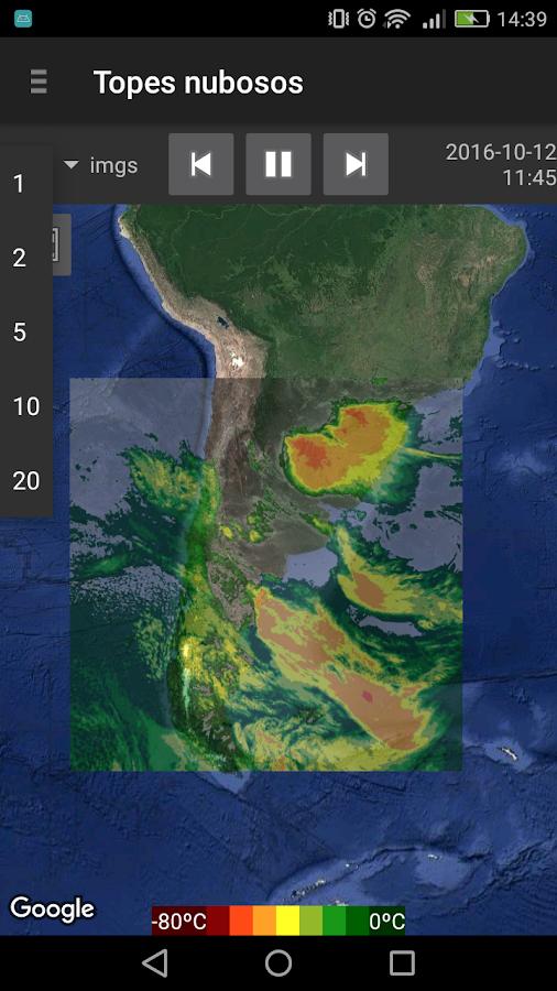 Resultado de imagen para sepa precipitaciones