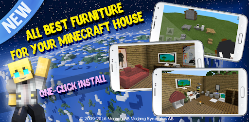 Check out mod with all best furniture for your house for Minecraft PE!