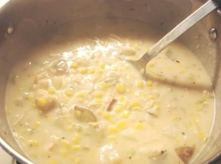 Potato, Chicken And Corn Chowder Recipe