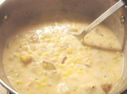 Potato, Chicken And Corn Chowder Recipe