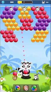 Download Bubble Raccoon New Bubble Shooter For PC Windows and Mac apk screenshot 3