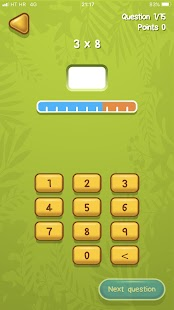 Times Tables learning with SpuQ - náhled
