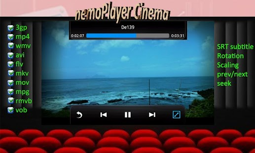 nemoPlayer+- screenshot thumbnail