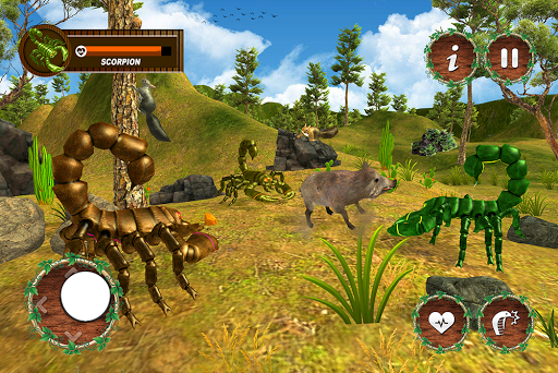 Wild Scorpion Family Jungle Simulator 1.3 screenshots 9