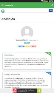 Instanaliz.ml - Instagram screenshot