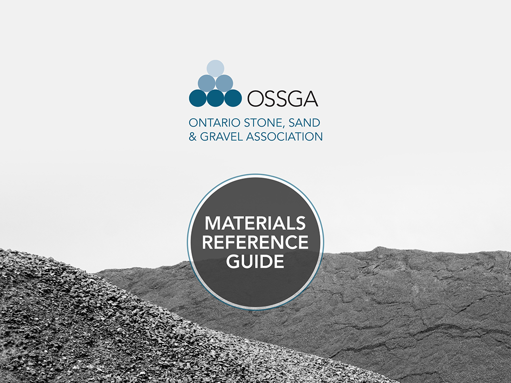 OSSGA Materials Reference App- screenshot