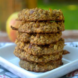 Flourless Caramel Apple Oatmeal Cookies.
