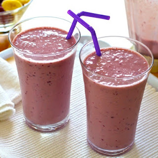 Grape-Banana Smoothies