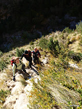 Photo: Abandonem la llera per enfilar-nos cap al Racó dels Degotalls