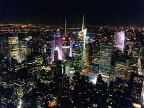 Photo: Vaade Empire State  Buildingu 86 korruselt õhtusele NY-le