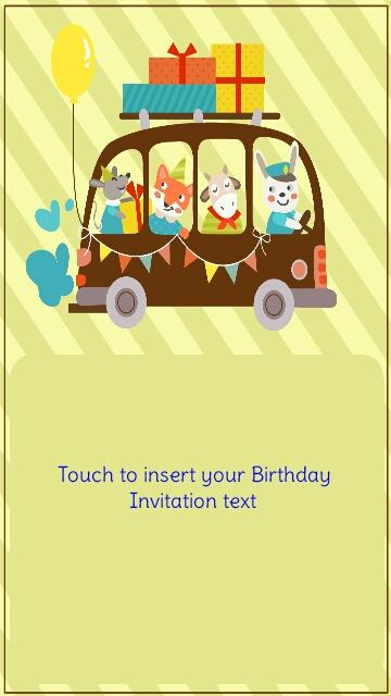 Birthday invitation maker gangcraft birthday invitation maker android apps on google play birthday invitations stopboris Gallery