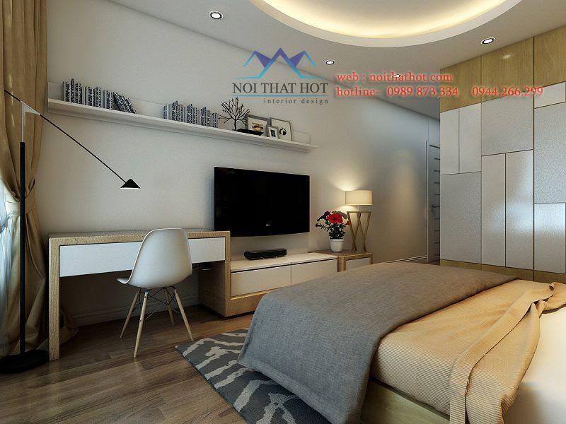 thiết kế phòng ngủ chung cư thông minh