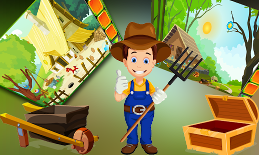 Cute Farmer Rescue Best Escape Game -268 - náhled