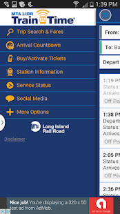 LIRR TrainTime- screenshot thumbnail