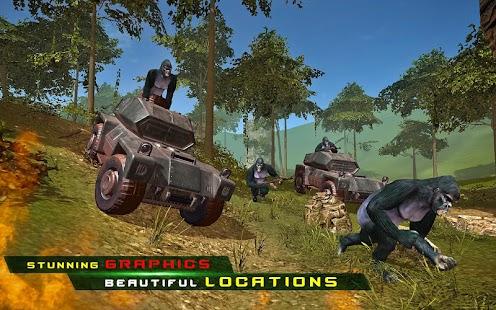 Apes Hunter - Jungle Survival Screenshot