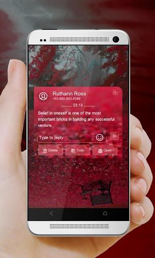 玩免費個人化APP|下載血腥秋 GO SMS app不用錢|硬是要APP