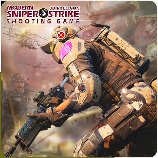 Modern Sniper Strike 3D Free Gun Shooting Game