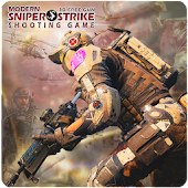 Modern Sniper Strike 3D Free Gun Shooting Game