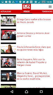 DIEZ MINUTOS Noticias Corazon- screenshot thumbnail