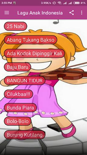 KUMPULAN LAGU ANAK INDONESIA 1.0.0 screenshots 2