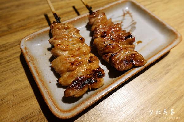 台北鳥喜,不吃可惜的米其林一星雞串燒料理 / 信義區 / Neo19