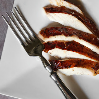 Roast Chicken with Brandy-Vanilla Butter Recipe
