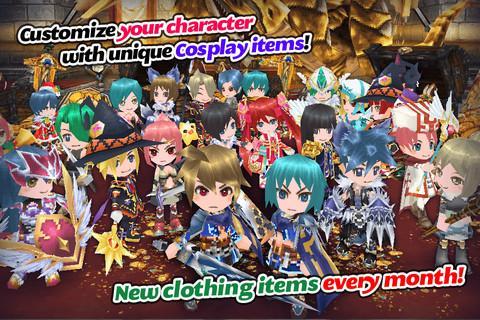 RPG Elemental Knights R (MMO)