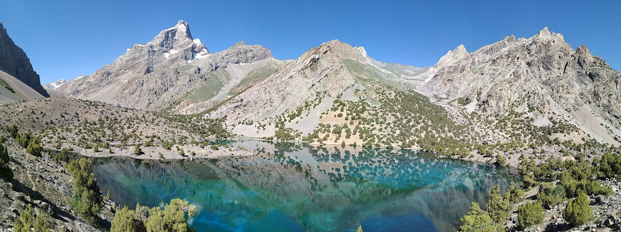 Fann mountains - Kulikalon lakes, part 1 - Jul 19