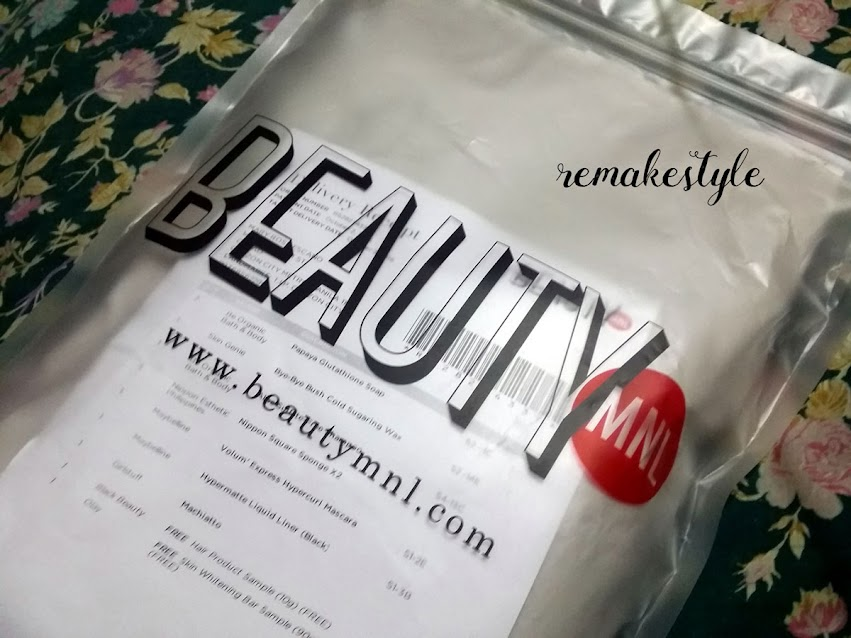 BeautyMNL zip lock plastic bag
