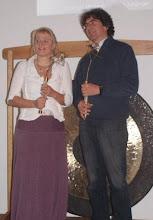 Photo: Ingrid Inaara Rosenmaier & Reinhard Kreisl am Event 2012 in Unterhaching bei München
