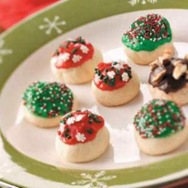 Sweet Cherry Bon Bon Cookies Recipe