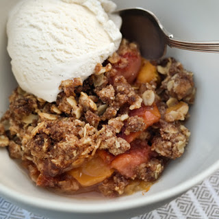 Quick and Yummy Basic Fruit Cobbler, This Time Peach!